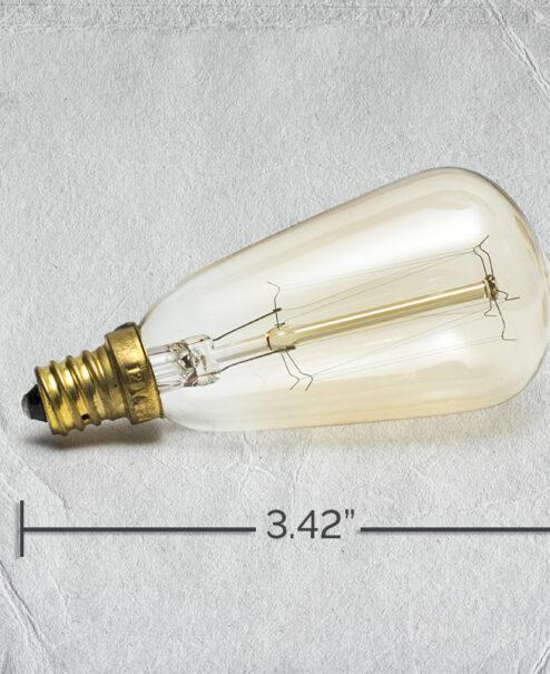 Candelabra Bulb Specs