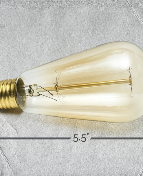 Edison Bulb Specs