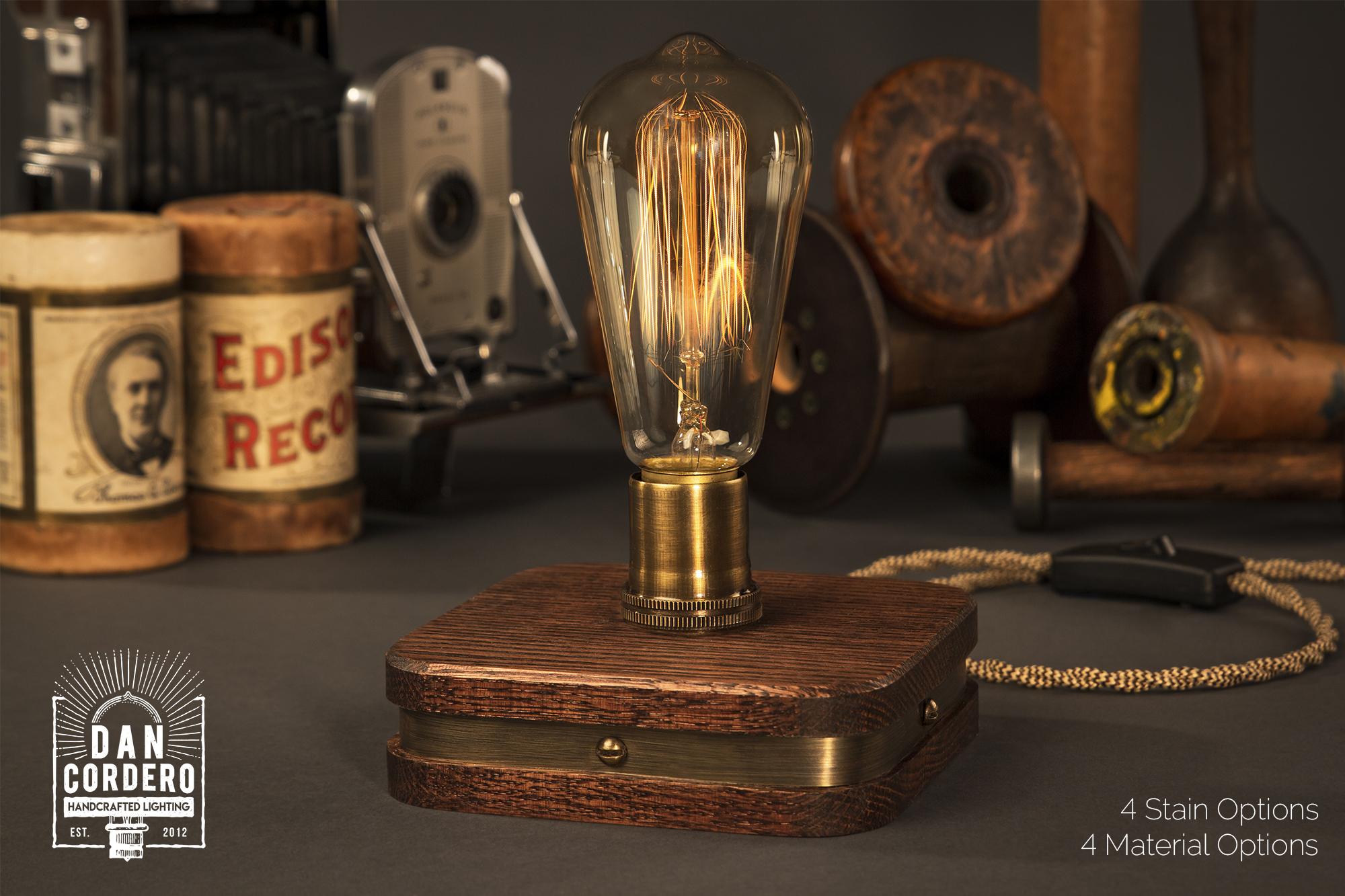 The Menlo Edison Lamp