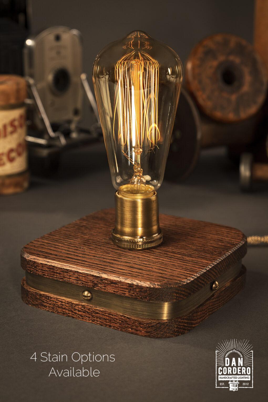 Red Oak Lamp