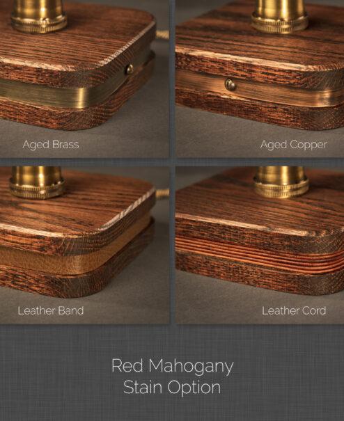 Menlo Lamp Material Options