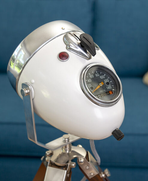 Motorcycle Headlight Table Lamp