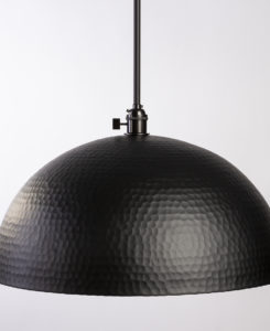 Black Hammered Dome