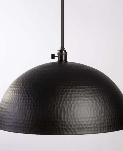 Black Hammered Dome