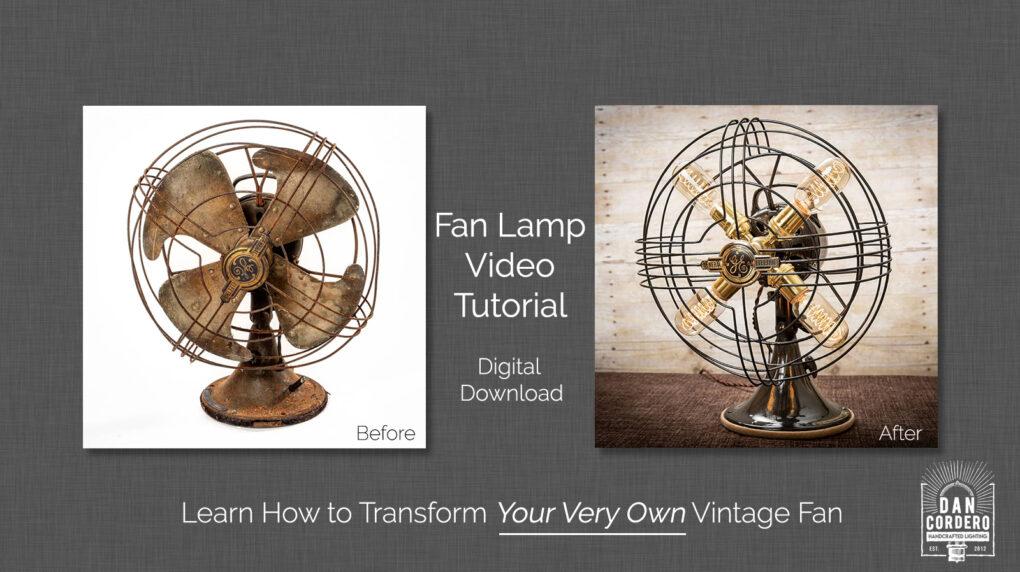 Fan Lamp Video