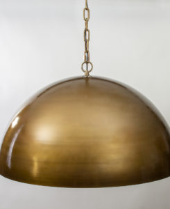 Oversized Pendant Light