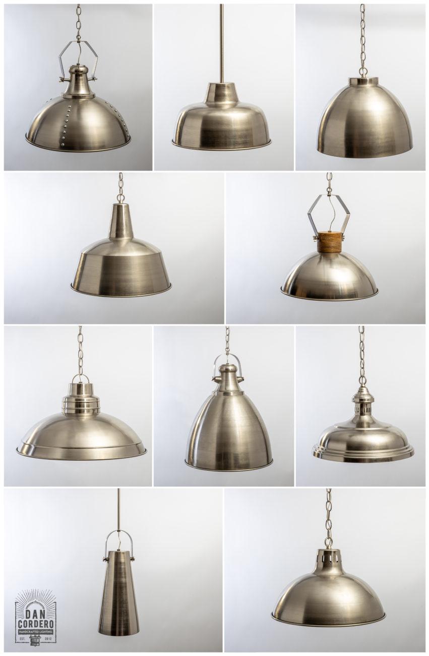Metal Dome Light Fixtures