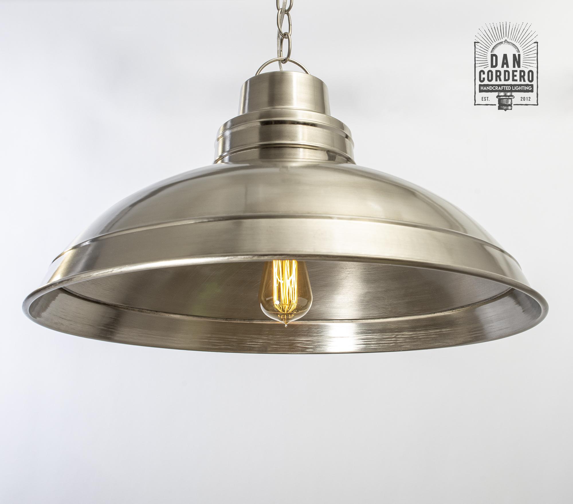 Clayton Dome Pendant Light Fixture | Dan Cordero ...