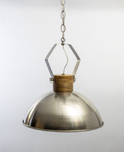 Metal Dome Pendant Light Fixture