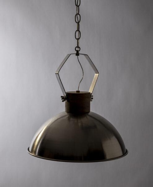 Metal Dome Pendant Light Fixture