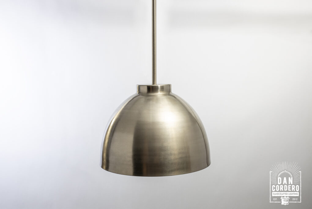 Oversized Dome Pendent Light Fixture