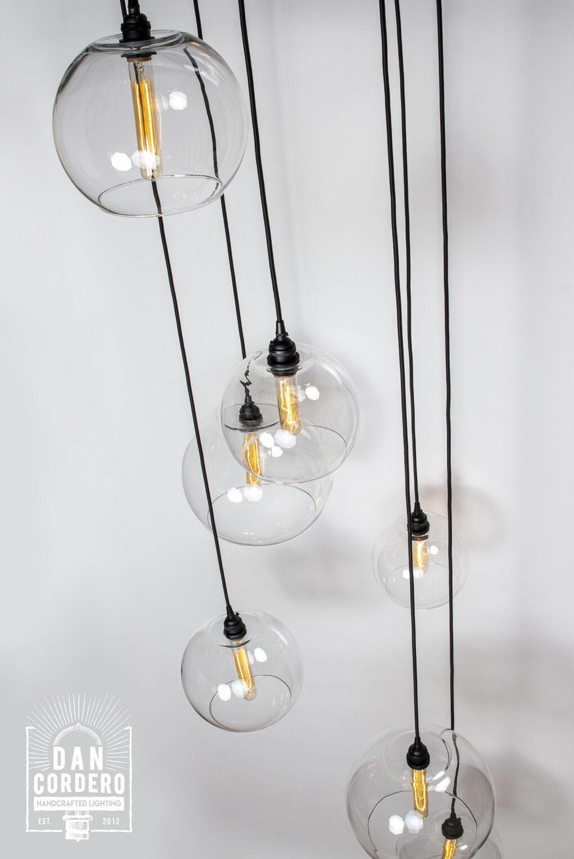 Globe Light Fixture