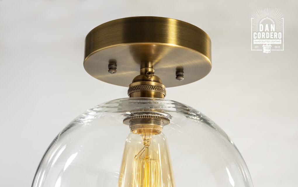 Globe Flush Mount Light