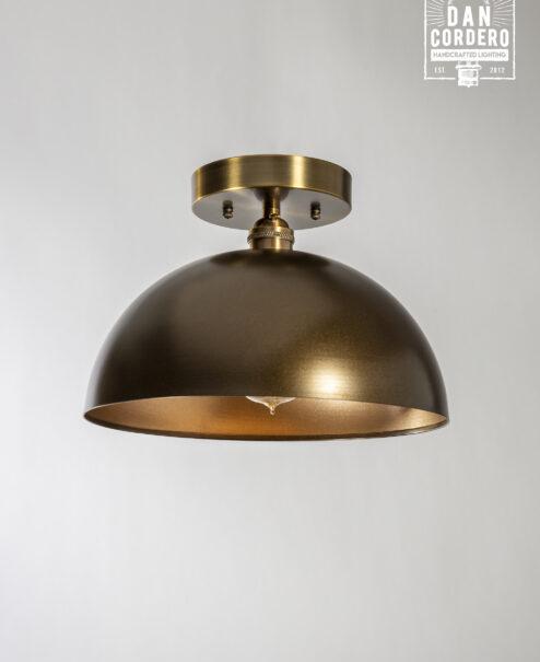 Dome Flush Mount Light Fixture
