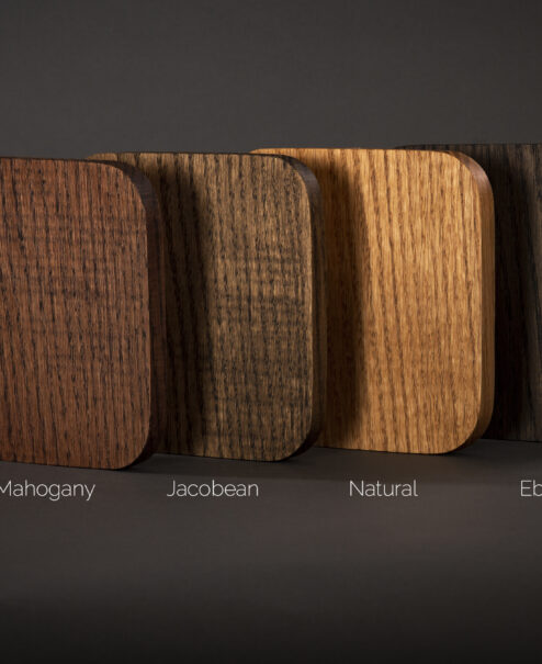 Dan Cordero Wood Stain Options