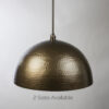 Oil Rubbed Bronze Hammered Light Fixture