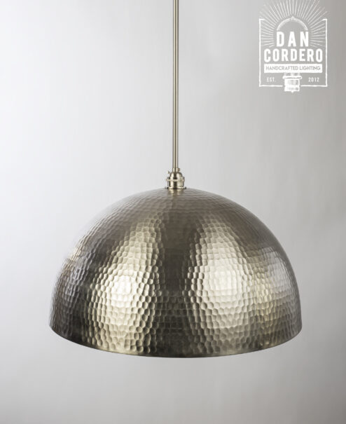 Brushed Nickel Pendant Light Fixture