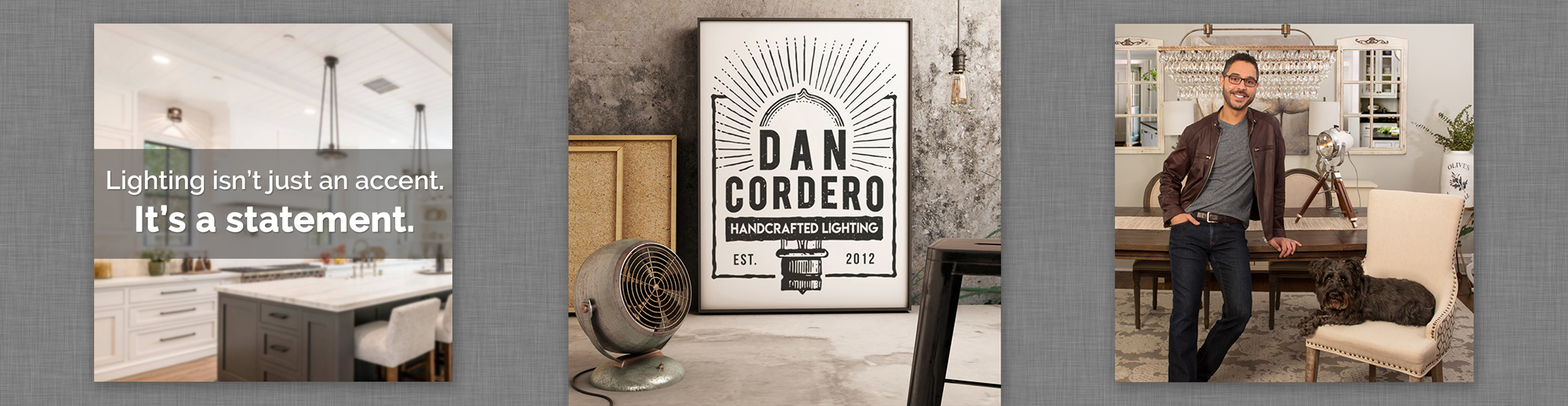 Dan Cordero website banner