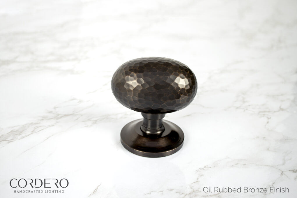 Hammered Door Knob