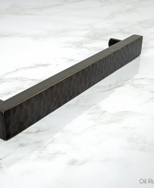 Oil Rubbed Bronze Hammered Pull