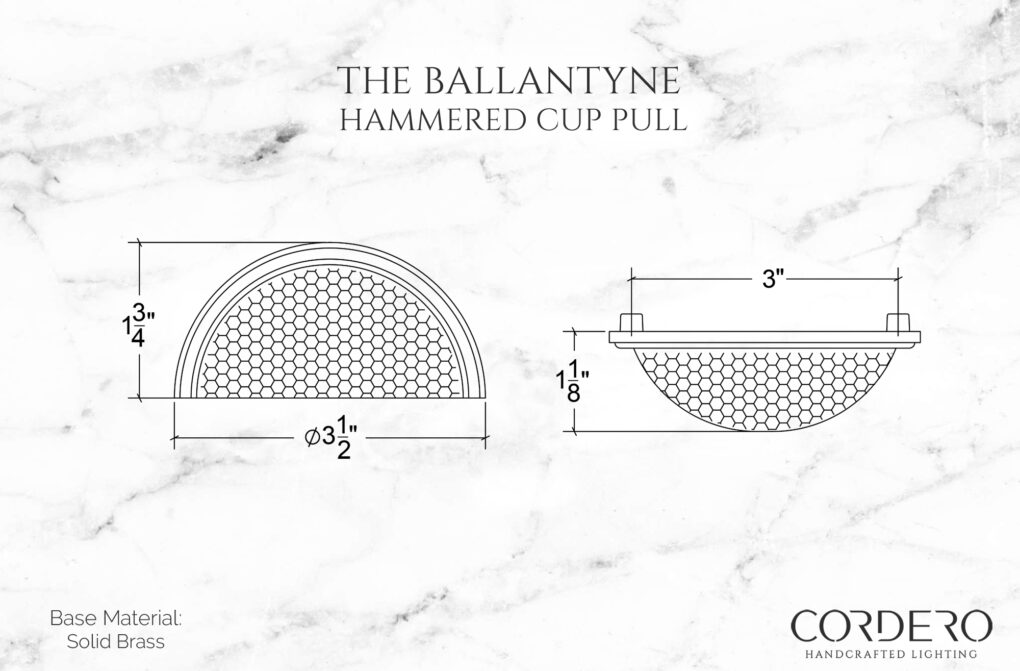 The Ballantyne Hammered Cup Pull
