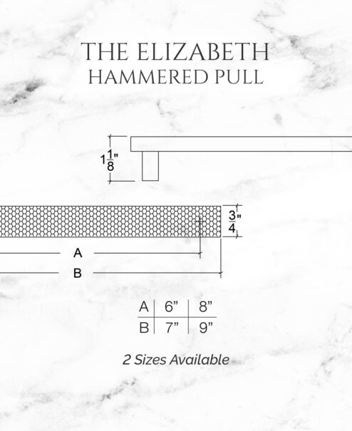 The Elizabeth Hammered Pull
