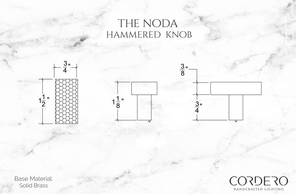 The Noda - Hammered Knob