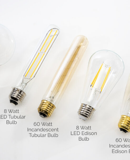 Edison Bulb vs LED