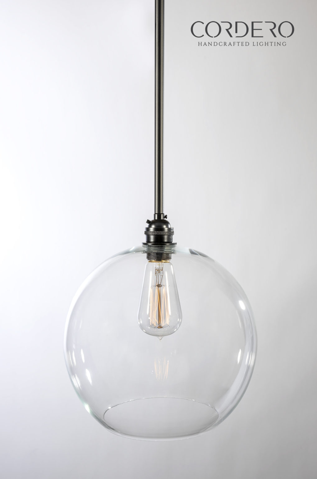 Clear Globe Pendant Light