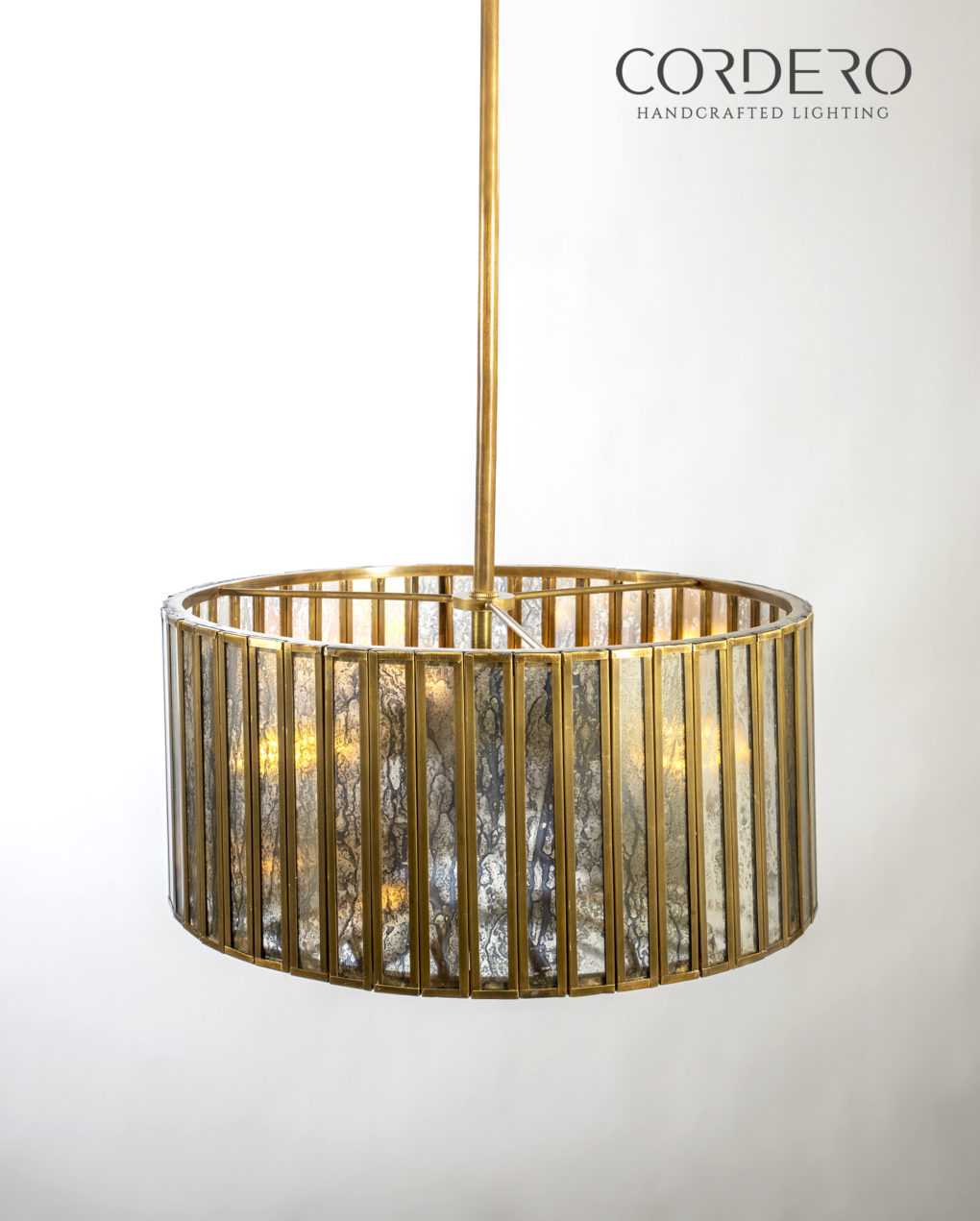 Mercury Drum Chandelier