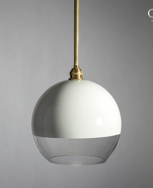 Two-Tone Globe Pendant