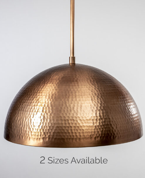 Copper Hammered Dome