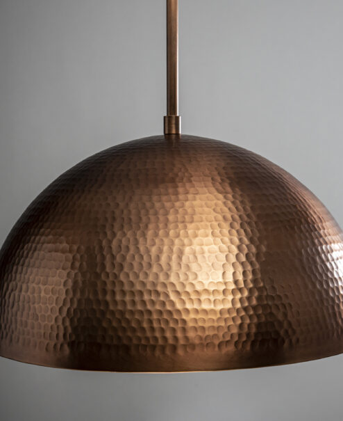 Hammered Copper Dome