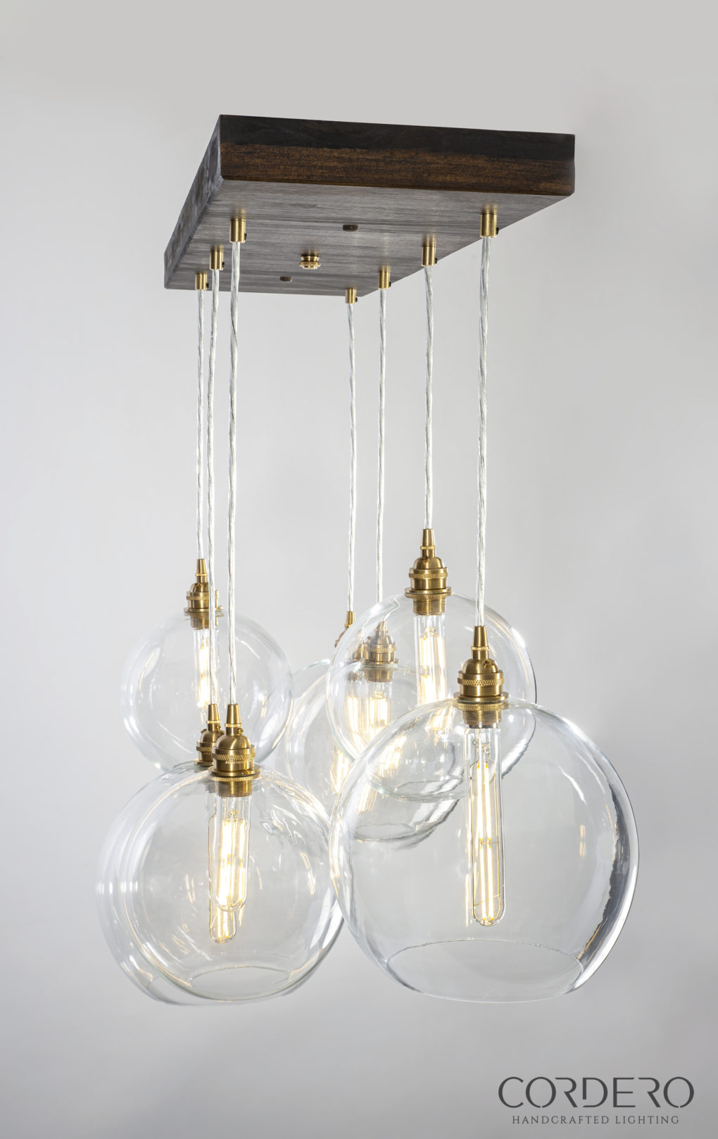 West Elm Globe Chandelier
