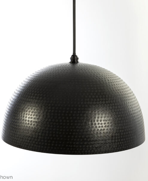 Black Dominion Hammered Dome