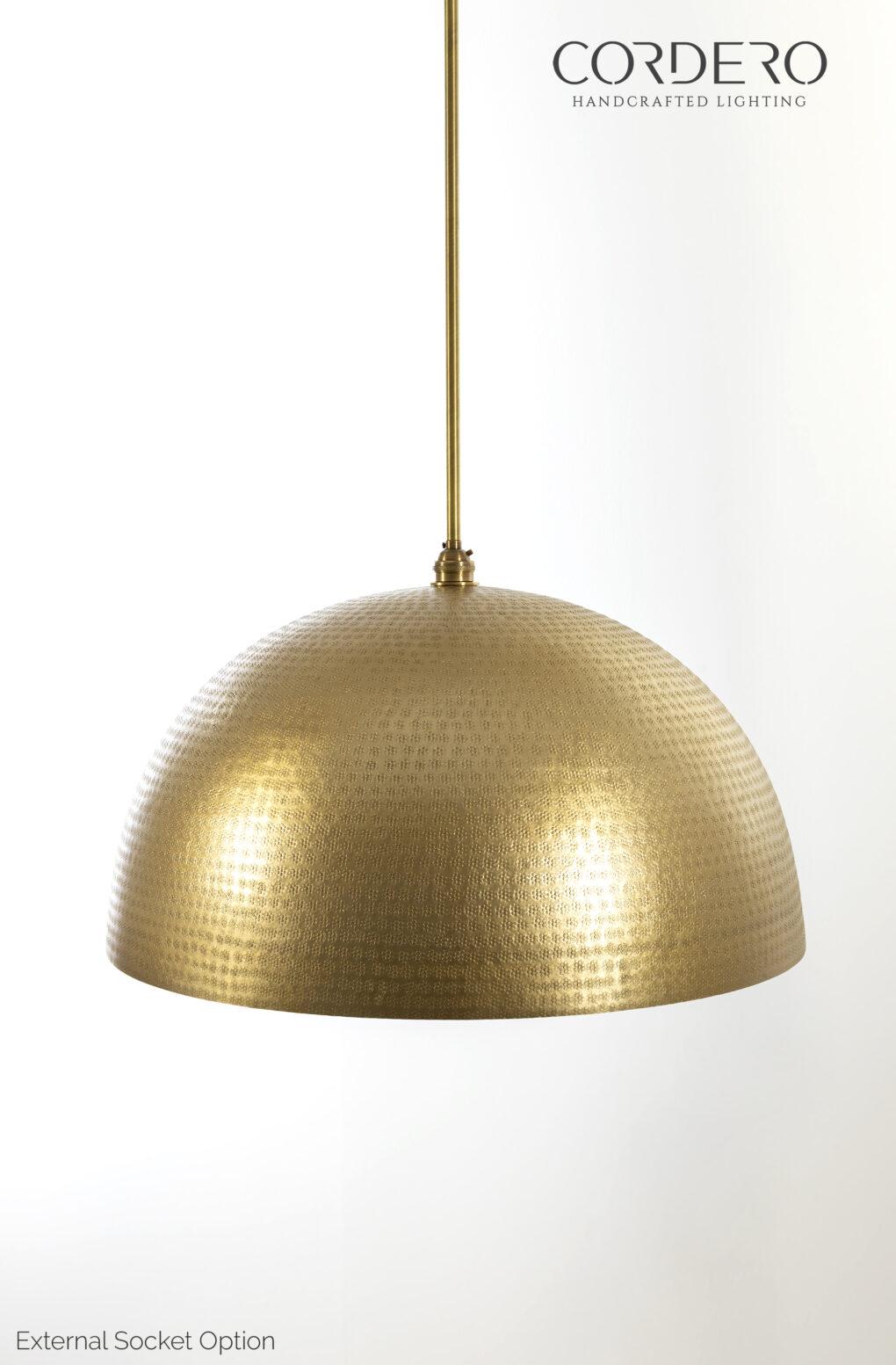 Rodan Hammered Pendant Light