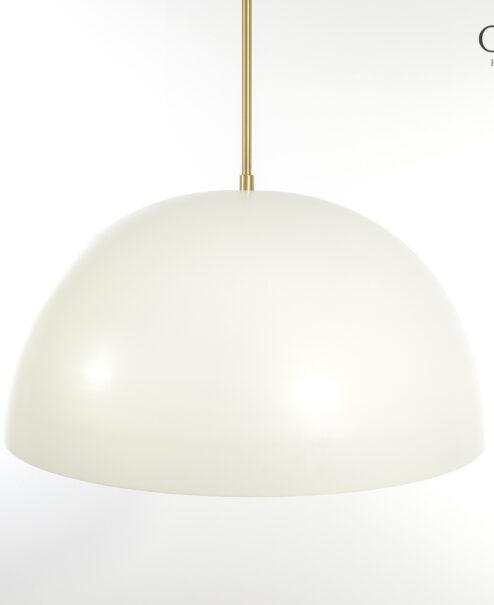 """30"""" Smooth Dome Pendant Light Fixture"""