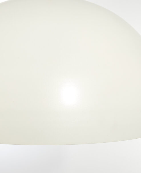 Oversized Smooth Dome Pendant Light Fixture