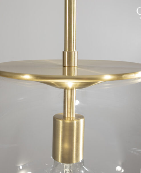 Oversized Glass Globe Pendant Light