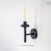 Knurled Wall Sconce