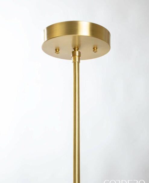 Brushed Brass Pendant Hardware